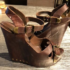 Dolce Vita Leather Wedges